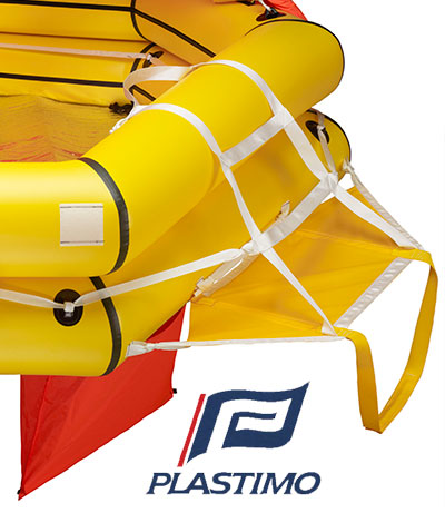 Plastimo liferaft ladder