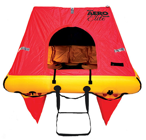 Aero Elite 6 person liferaft