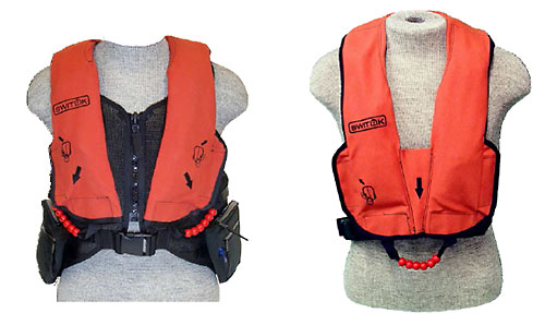 Switlik Constant-Wear Life Vests in Orange