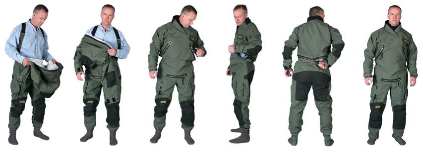 Switlik Search Rescue U Zip It Anti Exposure Suite Authorized