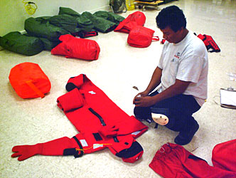 Marine Safety Immersion Suits