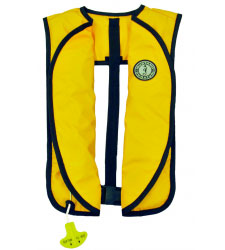Mustang Survival, Professional and Recreational products M.I.T. 22 Inflatable PFD (automatic activation)